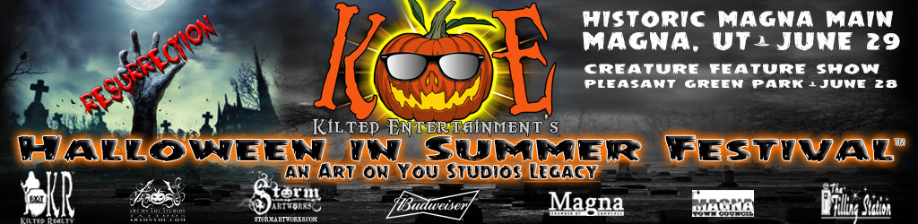 Art on You Studios presents Halloween in Summer Festival 2014